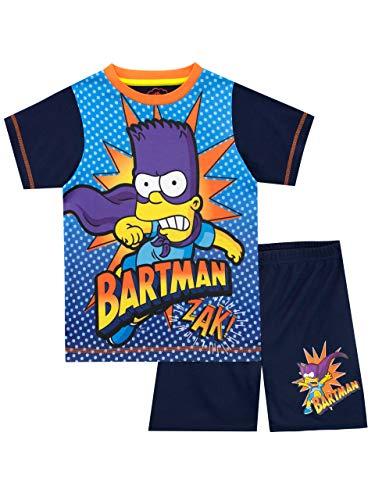 Simpsons Jungen Bartman Schlafanzug Mehrfarbig 128