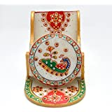 Jaipuri Craft's Marble Without Watch Mobile Stand | Home Decoration | Gift Items| Marble Handicrafts