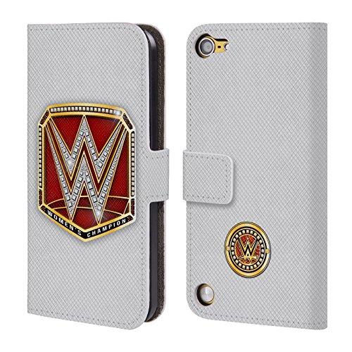 Ufficiale WWE RAW Women's Champion Fascia Della Vittoria Cover a portafoglio in pelle per iPod Touch 5th Gen / 6th Gen