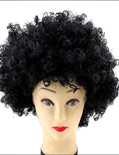 WM-Halloween-Party Weihnachts Afro Clown Cosplay Curly Perücken , green
