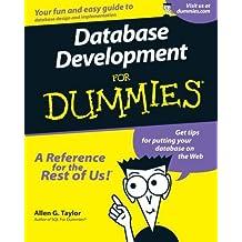 Database Development For Dummies by Allen G. Taylor (2000-11-15)