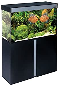 Ciano - Aquarium + Meuble - Emotions Nature 100 - Noir