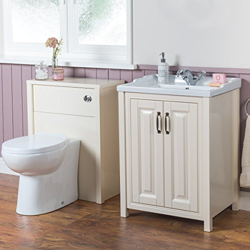 1100mm bathroom vanity sink floor standing and toilet for Floor standing bathroom furniture