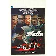 Póster de película 11 x 17 belga Stella - 28 cm x 44 cm en Nicole Garcia Thierry Lhermitte Jean-Claude Brialy Victor lanós Charles Denner