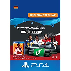 Madden NFL 20 – 12000 Ultimate Team Points – 12000 Ultimate Team Points DLC | PS4 Download Code – deutsches Konto