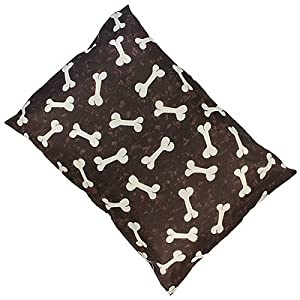 Linens Limited Bones Dog Pet Bed, Brown, Large by Linens Limited