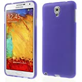 TPU-Case Schutzhülle Klemmhülle Case Cover Skin Samsung Galaxy Note 3 Neo 3G / SM-N750, Galaxy Note 3 Neo LTE / GT-N7505 Handyhülle lila transparent