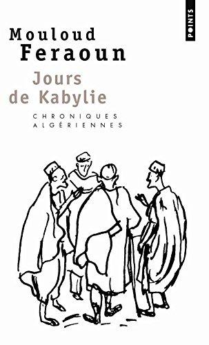 Jours De Kabylie par Mouloud Feraoun