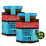 Geeta's Premium Mango Chutney 2x 320g - der wahre Geschmack