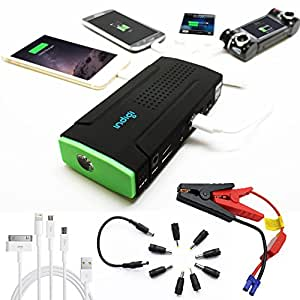 indigi robuste portable power bank urgence kit de d marrage pour batterie de. Black Bedroom Furniture Sets. Home Design Ideas