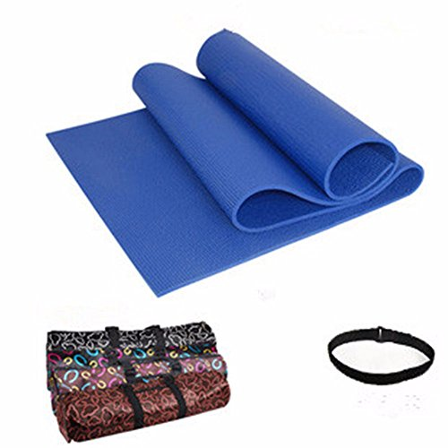 Sly982h Materassino Yoga Equilibrio Dello Spessore Di Tampone Di Allargare La Supina Cuscino Di Seduta , Fitness Dance E Blu Scuro