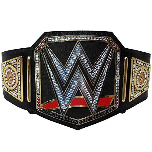 Marke New WWE World Hohe Gewicht Championship Gürtel Erwachsene Replica Echtleder Titel Gürtel Schwarz