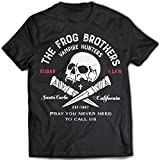 9338 frog brothers homme t shirt the lost boys santa carla bros zombie vampire amusement park thirst tribe x large black