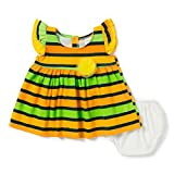 Camey Girls Multicolor With Yellow Flowe...
