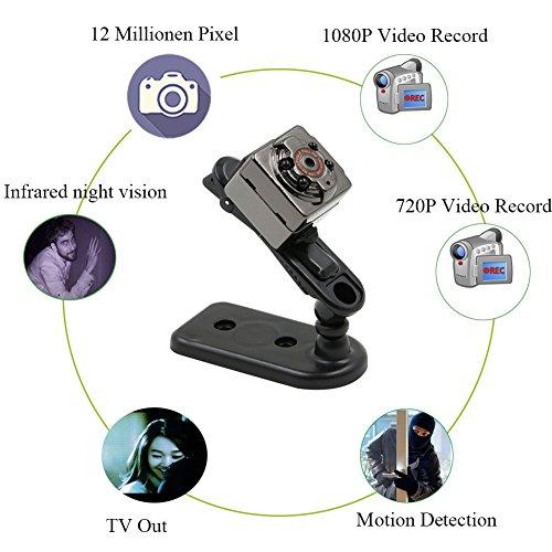 Tangmi 1080P volle HD Mini Kamera - 4