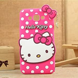 size 40 04232 53251 Trifty Samsung Galaxy Grand/9082 Girl's Back Cover Hello Kitty Silicon with  Pendant - Pink