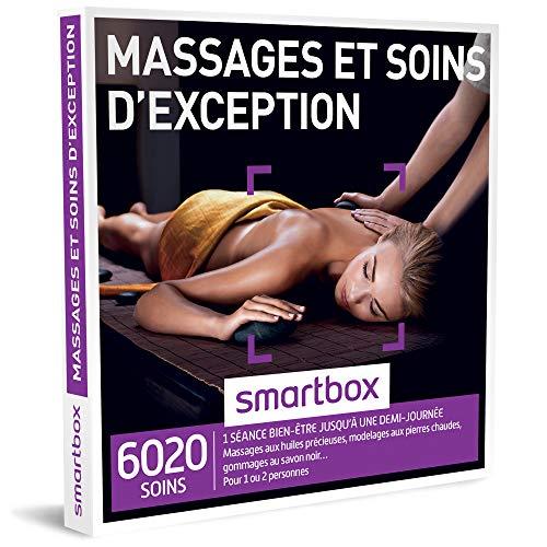 SMARTBOX - Coffret Cadeau - MASSAGES ET SOINS D'EXCEPTION - 1900 soins : massage,...