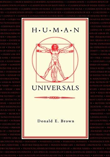 Human Universals (English Edition) por Donald E. Brown