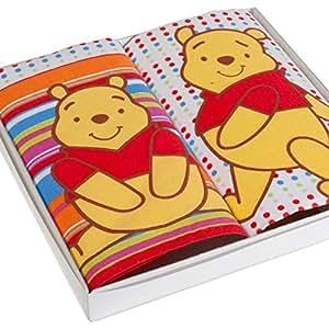 """Mouchoirs pour enfant """"Winnie"""" - 28cm x 28cm - Boîte de 2 unités"""