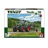 Schmidt Spiele 56257 211 Vario mit Fendt Wender Twister, Kinderpuzzle, 150 Teile, Weiss