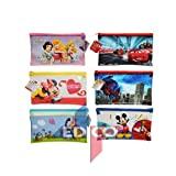 Porta matite Disney personaggi assortiti - Minnie Mouse, Principessa, Cars, Spiderman, Winnie