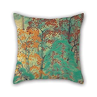 Loveloveu Pillowcase Of Oil Painting Yokoyama Taikan - Way To Atago,for Couples,couch,dinning Room,adults,home,lounge 18 X 18 Inches / 45 By 45 Cm(both Sides)