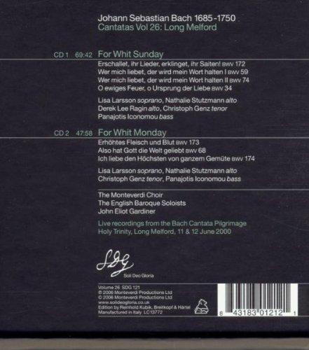 Bach Cantatas, Vol. 26: Long Melford
