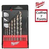 Coffret de 7 forets multi-matériaux MILWAUKEE 4932352335
