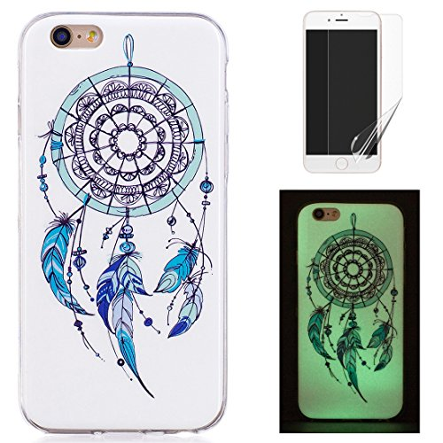 Cover Per iphone 6/iphone 6S Silicone Luminosa Disegno Fluorescente Illuminati