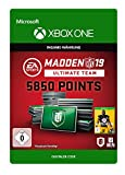 Madden NFL 19: MUT 5850 Madden Points Pack   Xbox One - Download Code