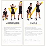 Gorilla Sports Kettlebell Competition Profi 8-32 KG - 7