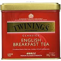 Twinings English Breakfast Tea, Loose Tea, 7.05 oz Tins by Twinings
