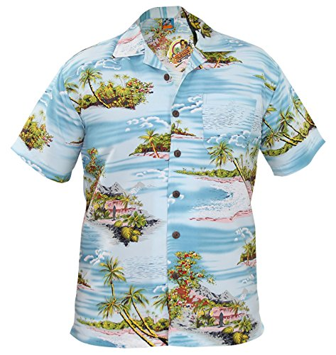 Low Cost Hawaiian Shirt by True Face. Choice of designs. Ideal for Timmy Mallet Costume