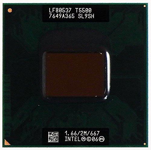CPU / Prozessor Core 2 Duo Mobile 1,66GHz T5500 SL9SH LF80537 7649A365 ID13411 1,66 Ghz Duo