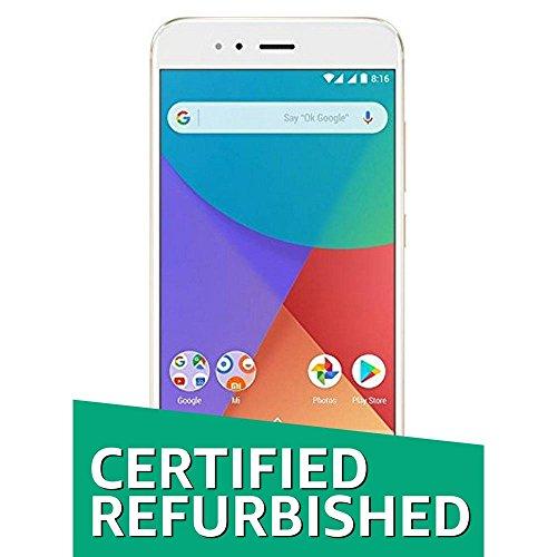 Xiaomi (Certified Refurbished) Mi A1 (Gold, 64GB)