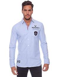 BENDORFF Freizeithemd Herren Größe XXL Hemd Hemden Blau Casual