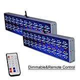 LYDIAMOON LED Wachsen Licht Gesamte Spektrum 20 Dimmbare Fernbedienung Anlage Wachsen Licht Für Indoor-Anlage Wasserkulturgewächshaus (1500W)