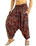 Sarjana Handicrafts - Pantalon - Sarouel - Homme One Size - Marron - Taille Unique