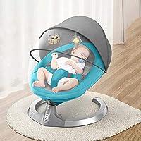 Oscilaciones equilibrio silla de la gorila Gorilas Cuna silla del asiento de la silla de oscilación de sillón reclinable de bebé recién nacido Lazy niños eléctrico Cuna bebé recién nacido,Azul