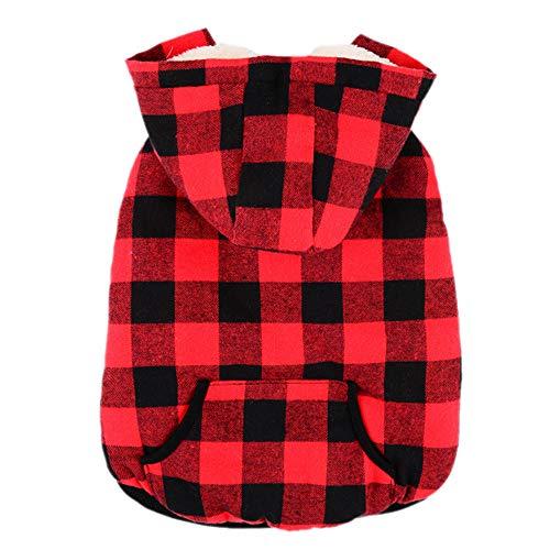 3b50fdf1979e Xmiral Vestiti Eleganti del Rivestimento del Cucciolo del Cucciolo del  Cappotto Caldo Morbido di Inverno del