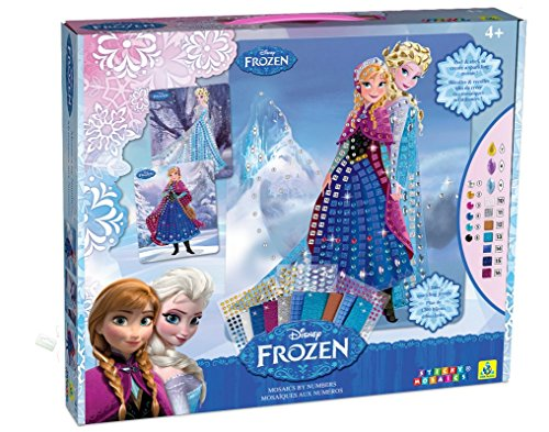 Disney Sticky Mosaics Frozen Anna and Elsa with Jewels