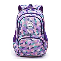 C-Xka Cute Schoolbags Large Capacity Travel Travel Rucksack Multicolor Fashion Backpack Laptop Daypack (color : PURPLE, Size : L)
