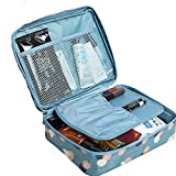 #8: Absales Outdoor Activities Waterproof Travel Portable Toiletry Kit Wash Bag (multi color)