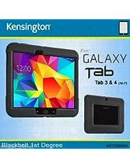"""Kensington BlackBelt 1st Degree Étui très robuste en caoutchouc style militaire pour Samsung Galaxy Tab 3/4Versions 10,1"""""""