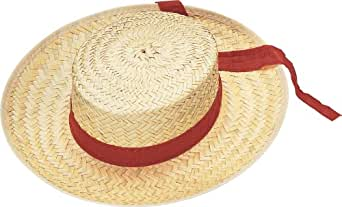Rubies Costume Co 49276R Straw Hat Gondolier adulte