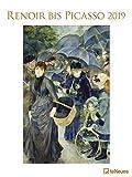 Renoir bis Picasso - Kalender 2019 - teNeues-Verlag - Kunstkalender - Wandkalender mit Gemälden verschiedener Künstler - 48 cm x 64 cm