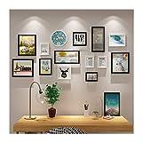 YIFNJCG Fotorahmen-Fotowand-Fotorahmen Wand Foto Wand Wohnzimmer Exquisite Wand Dekoration Kombination