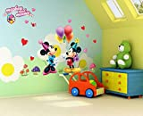 #9: Jaamso Royals 'Kids Mikey Mouse' Wall Sticker (45 cm X 60 cm)