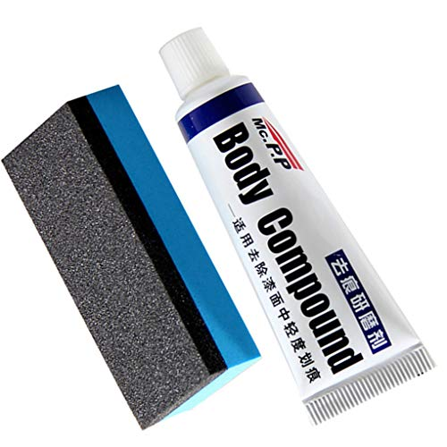 Uzinb Auto-Körper-Verbindung Paste Set Scratch Lackreparatur Auto-Polierschleifpaste Autopolitur Pflegepaste