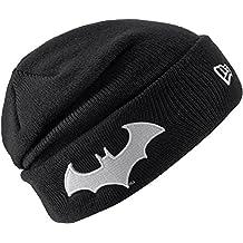 New Era KIDS GITD Character Batman Knit, Negro, Juventud (6–12años)